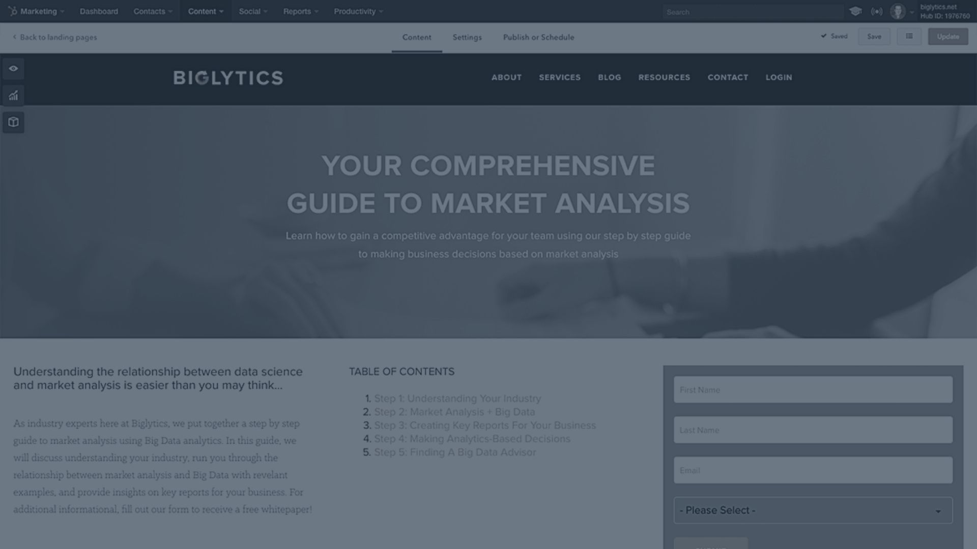 Lead Generation Services Landing Page - The Gist - Buffalo NY Marketing Agency